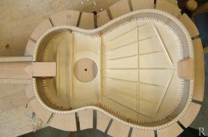 torres classical guitar bracing