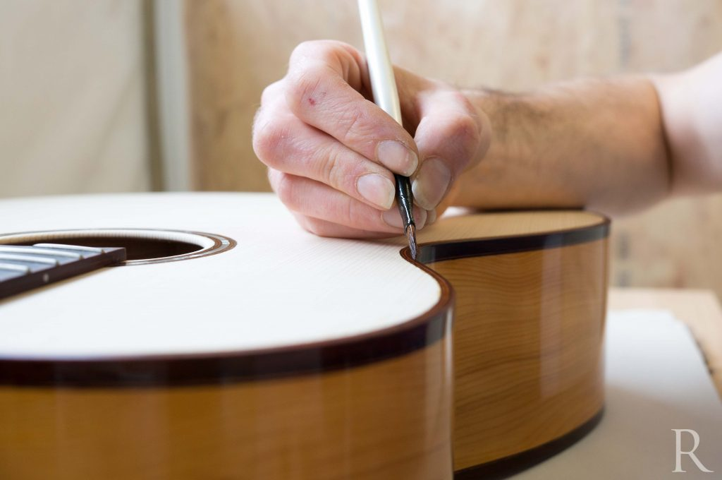 french polish guitar