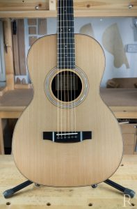 handmade martin 00 copy steel string guitar