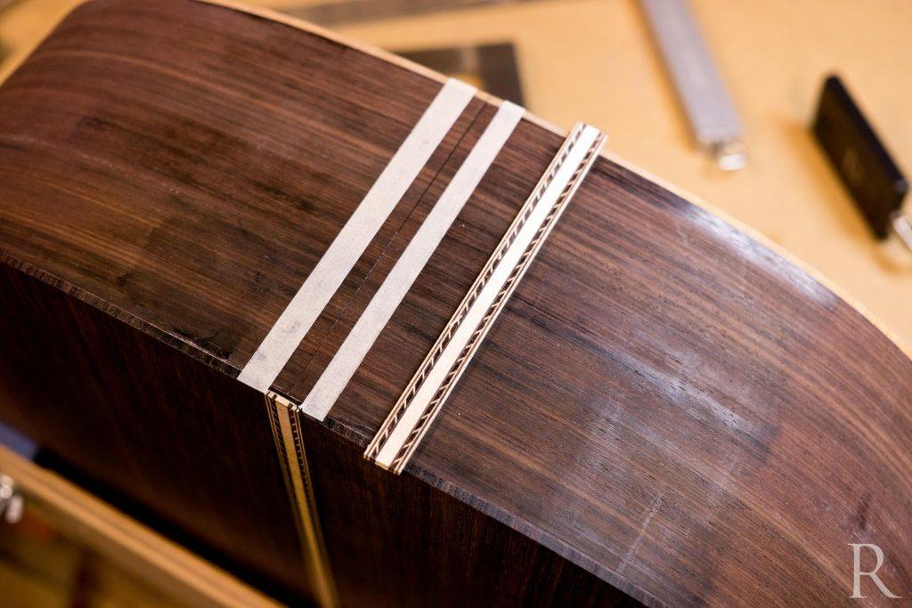 guitar end graft inlay