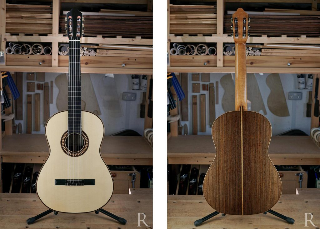 spruce and wenge classical guitar